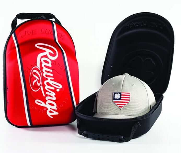 USA red color hat carrier